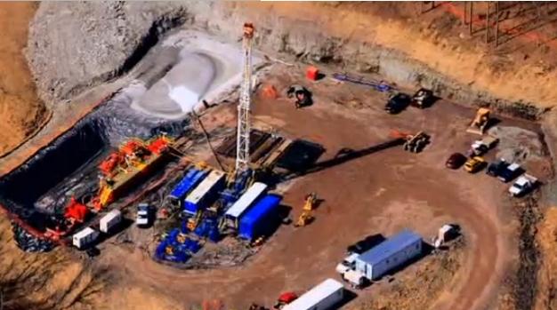 Сондаж за шистов газ в Щатите