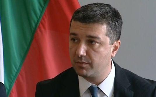 Министърът на икономиката и енергетиката, Драгомир Стойнев